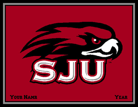 Custom St. Joe's  SJU 60 x 50