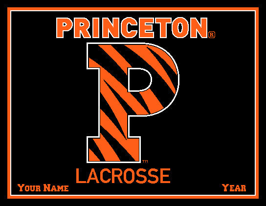 Princeton University P Lacrosse Name & Year