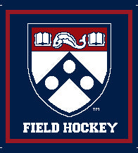 PENN Field Hockey Academic Shield Pillow