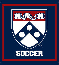 PENN SOCCER Academic Shield Pillow