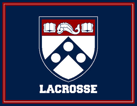 PENN Women's Shield Lacrosse  60 x 50