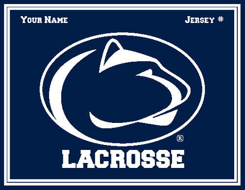Penn State Custom Men's Lacrosse Name & Number