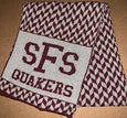 "Sidwell Chevron Supersoft ""SFS Quakers"" Scarf"