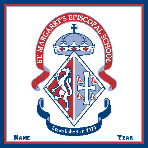St. Margaret's Episcopal School  CREST Customized with your Name & Year