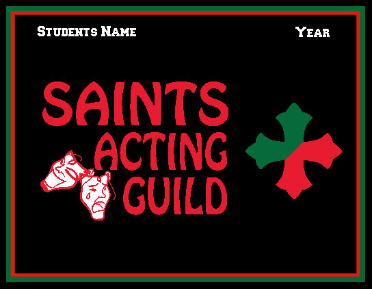 SSSA Acting Guild Blanket Customized Name & Year 60 x 50