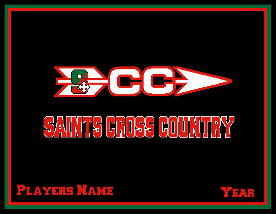 SSSA Cross Country Blanket Customized Name & Year 60 x 50