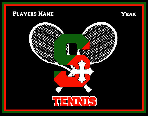 SSSA Tennis Blanket Customized Name & Year 60 x 50