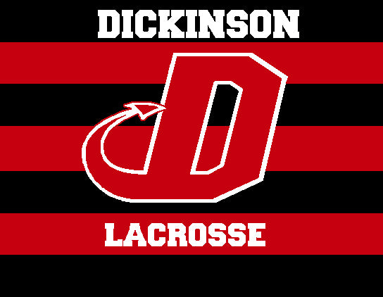 Dickinson Striped Lacrosse 60 x 50