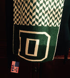 Dartmouth Chevron D Scarf 9 x 60