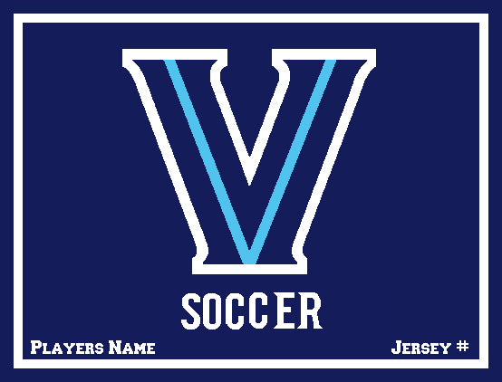 Villanova Men's Soccer with  Name & Number