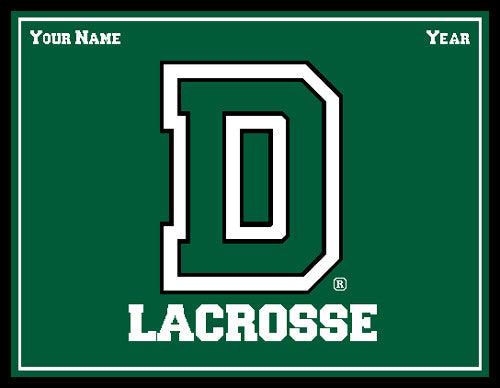Dartmouth Solid Men's Lax Name & Year