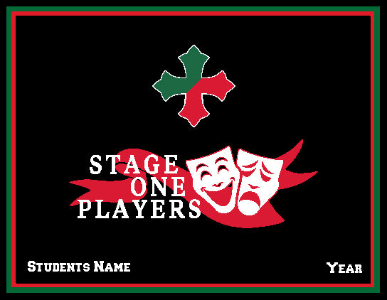 SSSA Stage One Players Blanket Customized Name & Year 60 x 50
