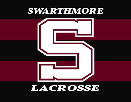 Swarthmore Men's Striped Lacrosse