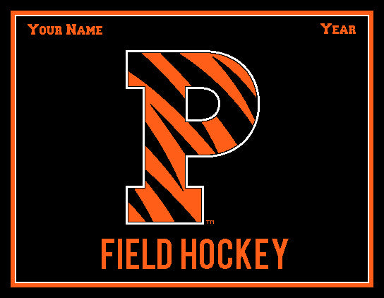 Princeton FH P Name and Year 60 x 50