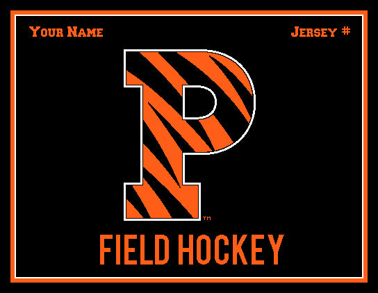 Princeton FH P Name & Number 60 x 50