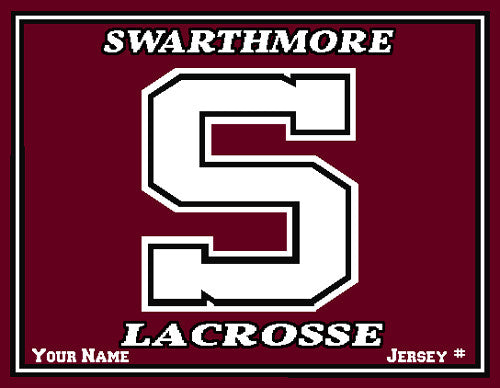 Swarthmore Men's Lacrosse Name & Number