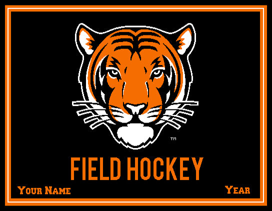 Princeton FH Tiger Name & Year 60 x 50