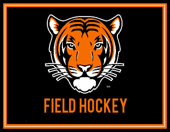 Princeton Field Hockey Tiger  60 x 50