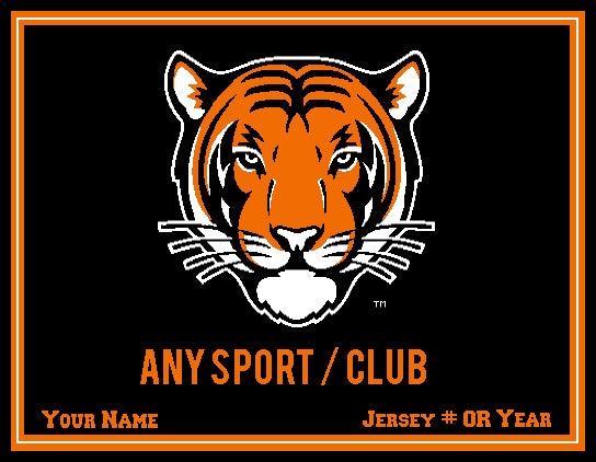Custom Princeton TIGER Sport / Club 60 x 50