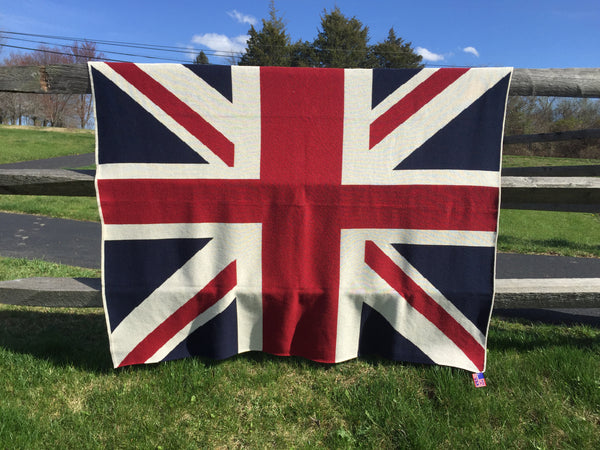 Union Jack Flag Blanket 60 x 50