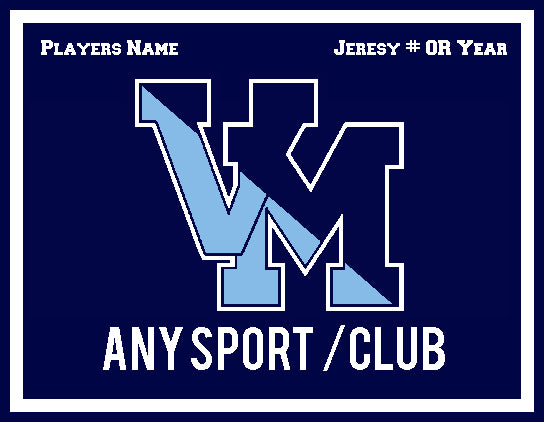 Villa Maria Academy VM Customized with your Name , Sport & Jersey #