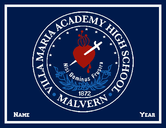 Villa Maria Academy SEAL Customized with your Name & Year