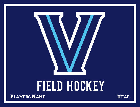 Villanova Field Hockey with Name & Year