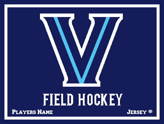 Villanova Field Hockey with Name & Number