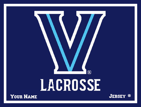 Villanova Women's Lacrosse with  Name & Number