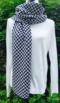 Villanova Colors Chevron Scarf