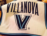 Villanova Natural Signature Logo Dorm, Home, Tailgate blanket
