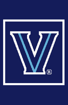"Villanova ""V""  Pillow"