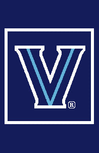 "Villanova University  ""V""  Pillow"