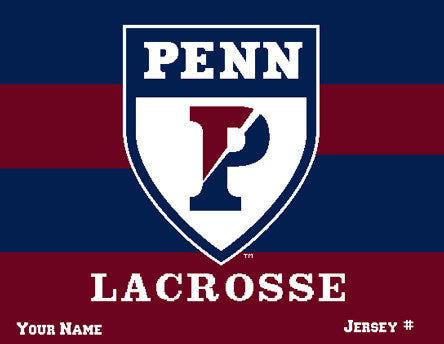 PENN Men's Striped Lax Name & Number