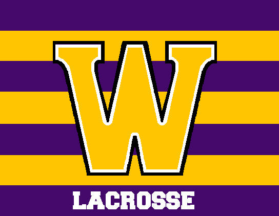 Williams College Striped Men's LAX