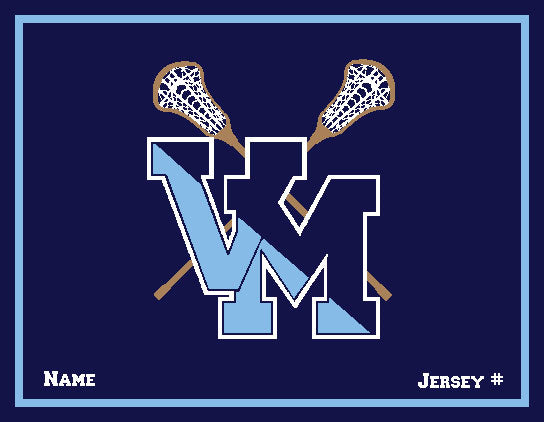 Customized Villa Maria Academy Lacrosse with your Name and Number