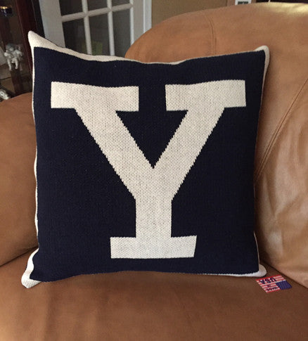 Yale Y Pillow 20 x 20