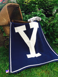 Yale Navy Baby 30 x 40