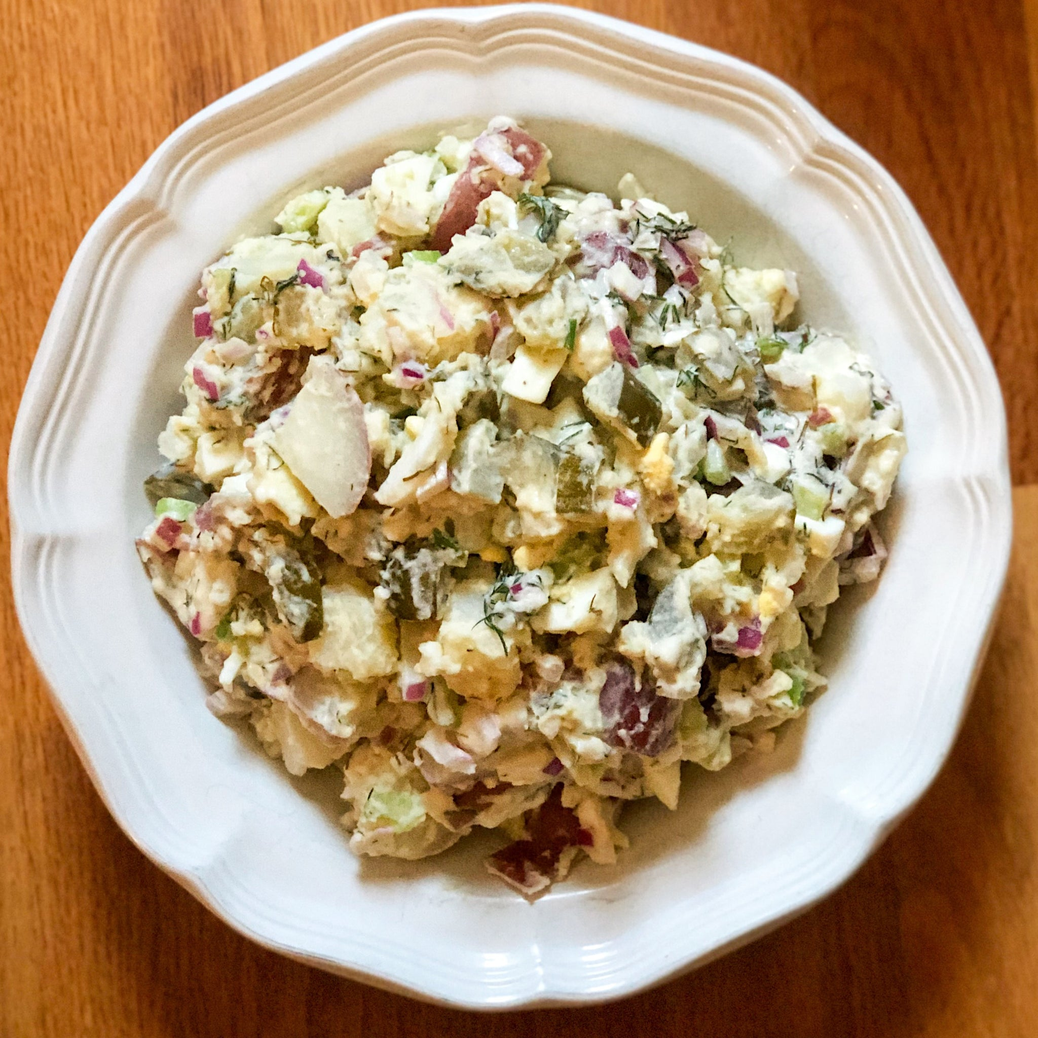 The Real Dill Pickle Potato Salad