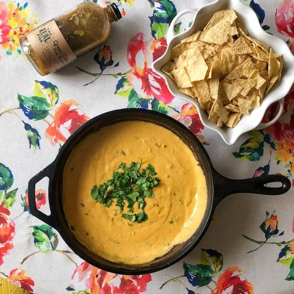 The Real Dill Green Chile Queso