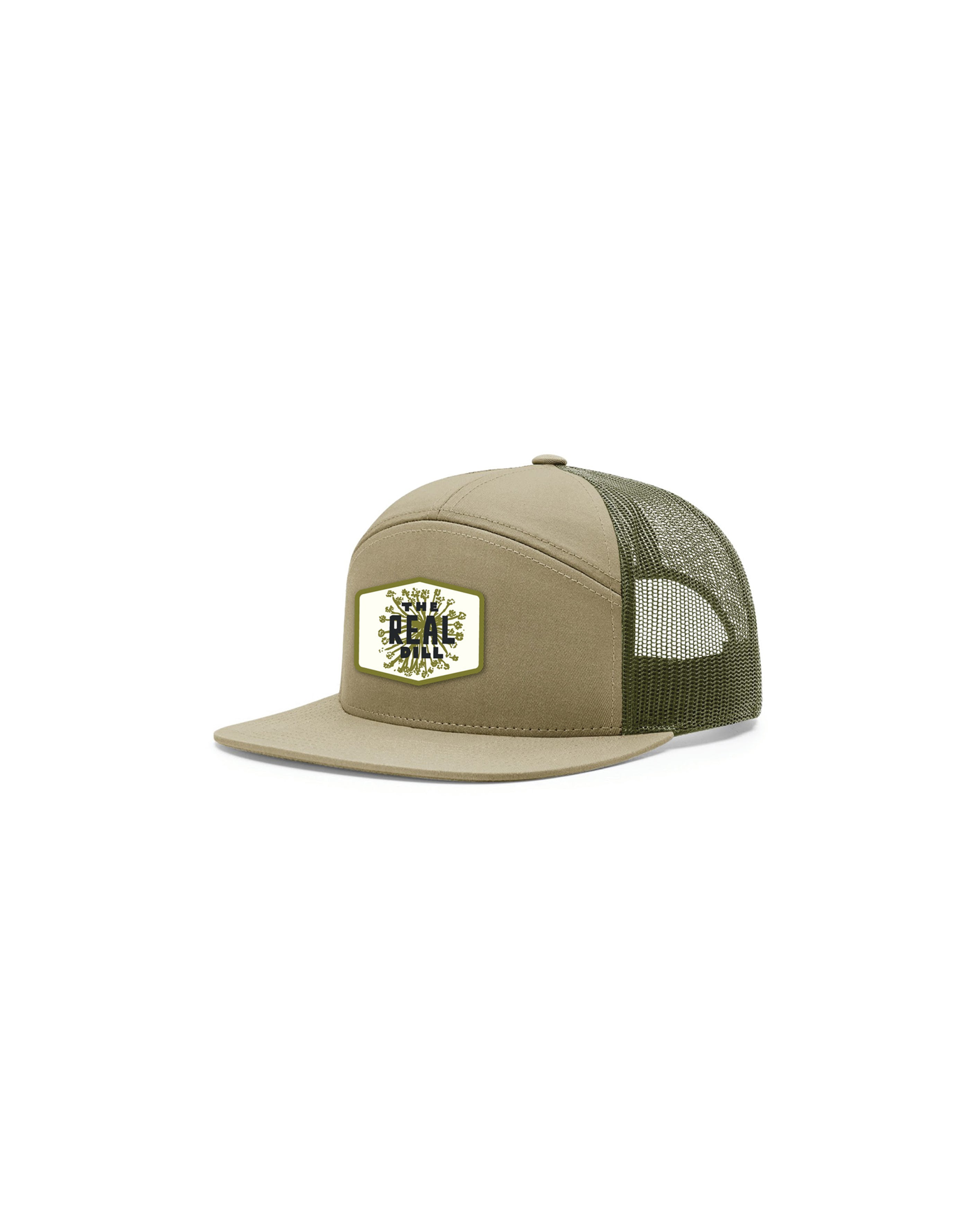 61d26ec39 The Real Dill 7 Panel Trucker Hat