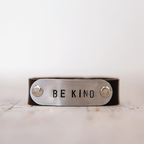 hero band stamped be kind
