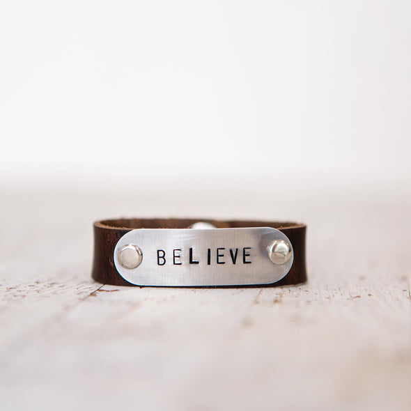 hero band stamped believe