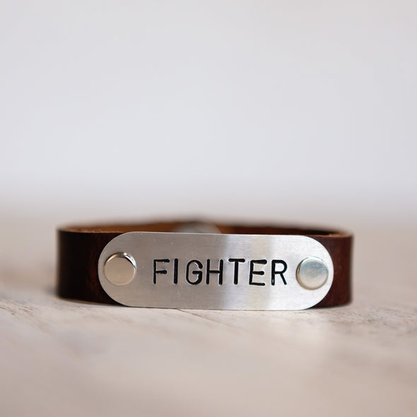 hero band stamped fighter