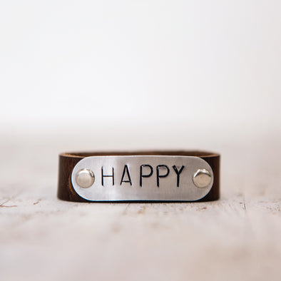 hero band stamped happy