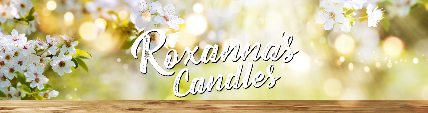 Roxanna's Candles Homepage Banner