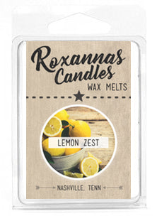 Lemon Zest Soy Wax Melt