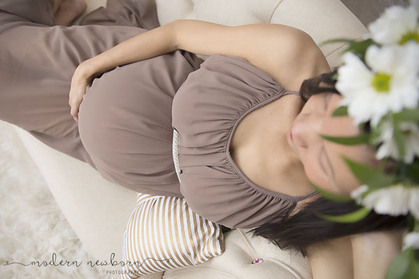 """JULIA"" MATERNITY DRESS"