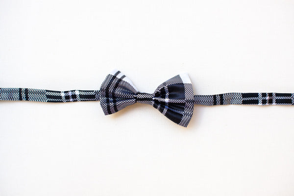 Black & White Bow Tie