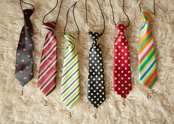 BABY/TODDLER VARIETY OF NECKTIES